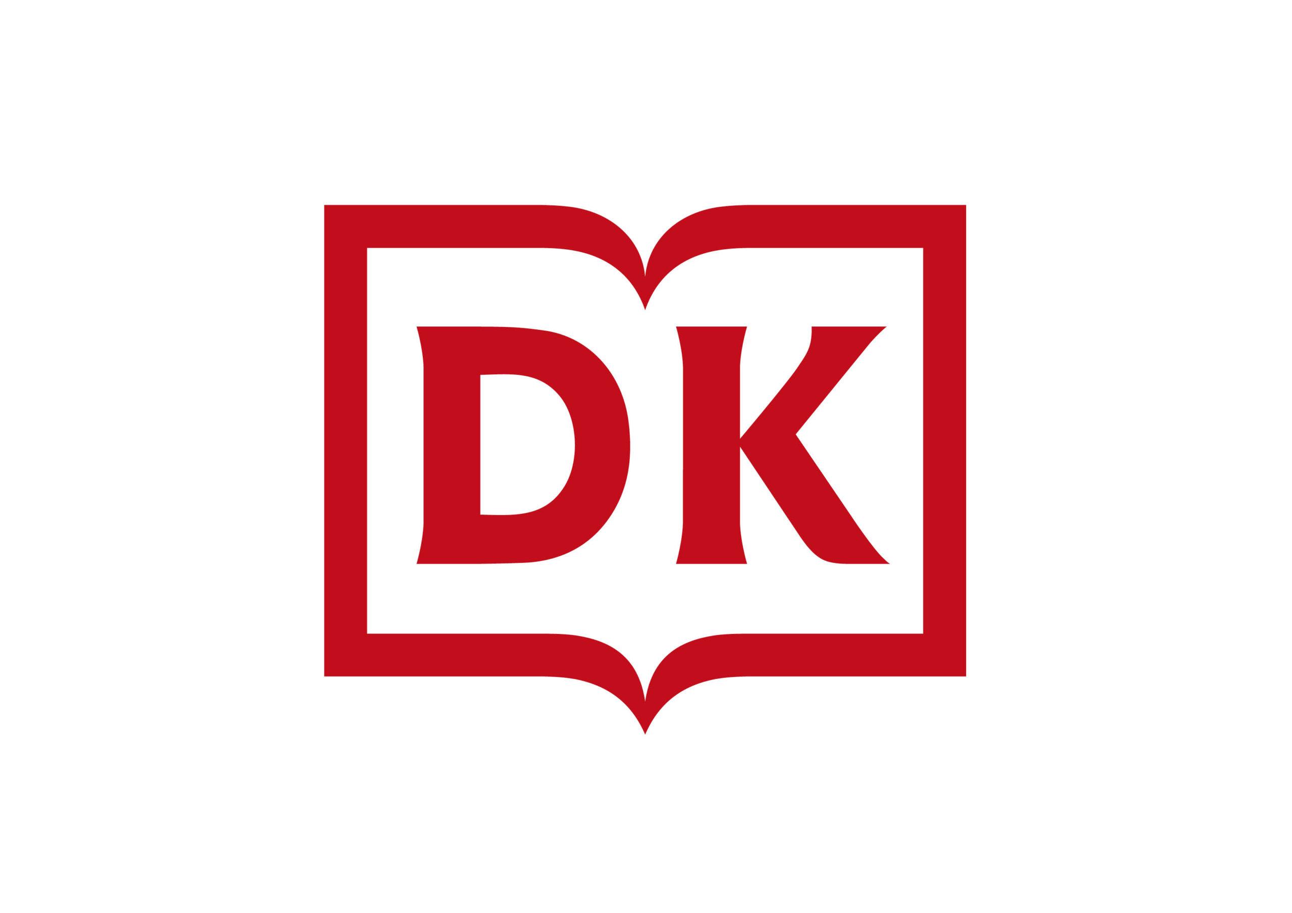 Das neue Logo von DK, das ab Mitte des Jahres zum Einsatz kommen soll (Durch Klick auf Logo zum Verlagsprogramm)